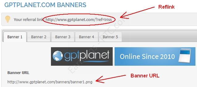 GPTPlanet reflink banners