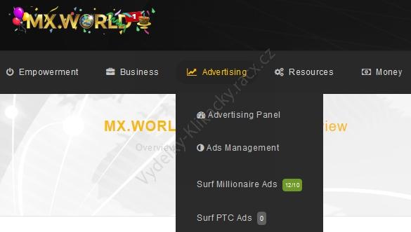 mxworld surf ads